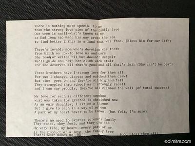 Poem by Helen Bardy