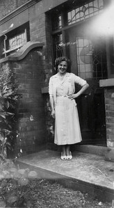DPB-61: May (Maisie) Barr (nee McKeown) at 187 Sandown Road, Belfast