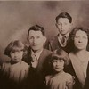Family picture of Luther Whitney and Frances Metcalf Whitney, with l-r Patty, Mary and Luther Peck. Taken abt 1930