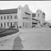 Unknown building in southern California, winter 1922 or 1923