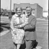 Emma and her suitor Gordon, late summer 1927