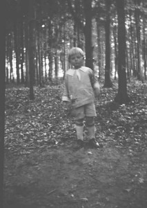 Dad has no idea where this was taken but there are a lot of trees around jamestown and Especially in 1925.