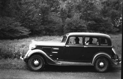 This was Grandpas 1934 Plymouth and when we got married we bought it from him and later sold it for fifty dollars.