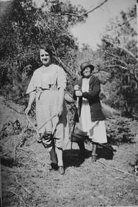 Bessie Bledden and Mabel Henry