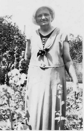 This is Granpa Edberg's mother Hilda but we are not sure when it was taken but she looks young.