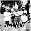 July, 1950 - Karen, Alan, Bill, Lynn