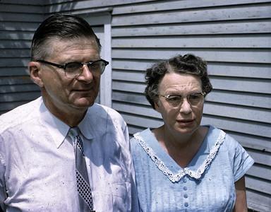 Elwins parents, Evald and Hazel Edberg. (aka Grandpa and Grandma Edberg).