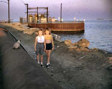 Linda and Kathy at Pierpoint Landing in Long Beach CA