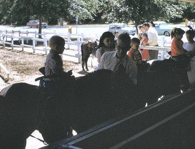 This is the pony rides at Griffith Park