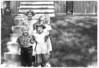 1953, July 4 - Lynn, Dawn, Alan, Karen