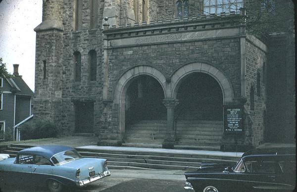 Lutheran church Jamestown
