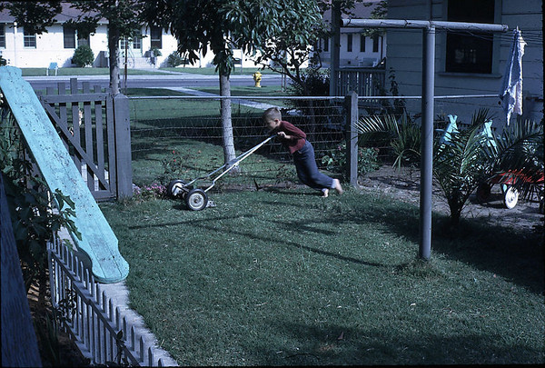 19630601_gary_mowing_lawn