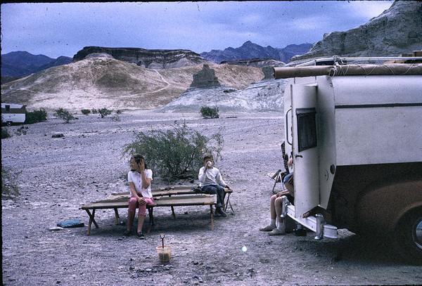 1964 Linda, Gary in Death Valley