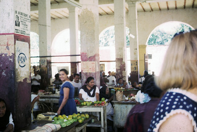 Inside the Market at Muna, near Uxmal