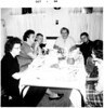 1963 - Lorraine, Irene Sweda, Alan, Grandma Kuczkowski, Dennis Sweda [October, 1964 imprint]