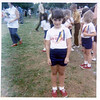 Jenny, Junior Olympics at Mary Boswell School.  May 1970.