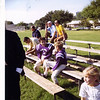 YMCA football, fall 1970.  Bud and George Voneiff.  At Preston Hollow Park.