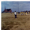 YMCA football; St. Mark's Firebirds vs. Caillet Owls.  Bud punting.  Fall 1970.