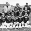 4th Grade YMCA Football, Town North YMCA, Fall 1970.<br /> Front: Caton Cobb, George Voneiff, Scott Berger, Brad Urschel, David Vaughn.<br /> Middle: Chris Smith, Bobby McCullough, Bud Brooks, David Fields, Perch Nelson.<br /> Back; Ed Voneiff, Dad, Dick Berger.