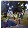 Jenny at Camp Champions, Marble Falls, TX, June 1974.
