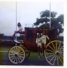 On the way home from Camp Champions, stopping at Stagecoach Inn, Salado, TX, June 1975.  Jenny, Kathryn Jones and Karen Gilbertson.