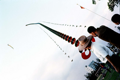 1970's Flying Kite