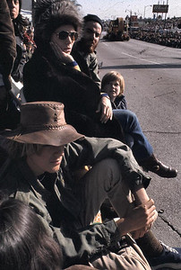 This was at the Pasadena Rose Parade. I see Gary with his western hat and John.