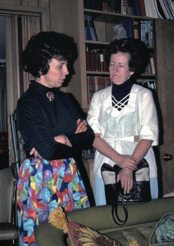 Beverly Kaufman and Patricia Edberg