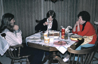 It seems we only took pictures when we were eating or celebrating something. Gary kathy pat.