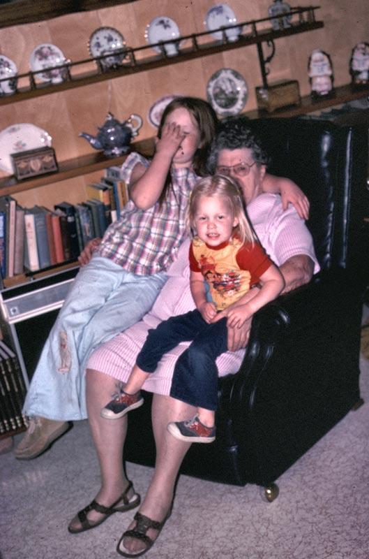 Tovey, Great-grandma and Kim