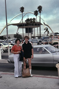 We picked Kay and David Edborg up at the airport and took them to the Red Onion to eat and then to the Dodger stadium. They were on their way home from Hawaii.