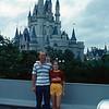 Eugene, Rebecca & Shelley in front of Cinderella's Castle