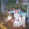 Bridal shower & Christmas double exposure.