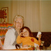 APRIL 1978 - me and Grandma Wilson