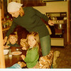 March 1978 - Joshua?, Kerry W and me (and Bobbin!)