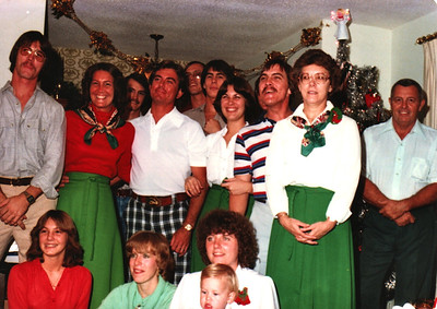 Snyder Family Christmas 1979