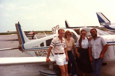 Flight Into Nassau Russell Bellmor, Sandy, Brenda & Bud Neal Cherokee Six Summer 1979