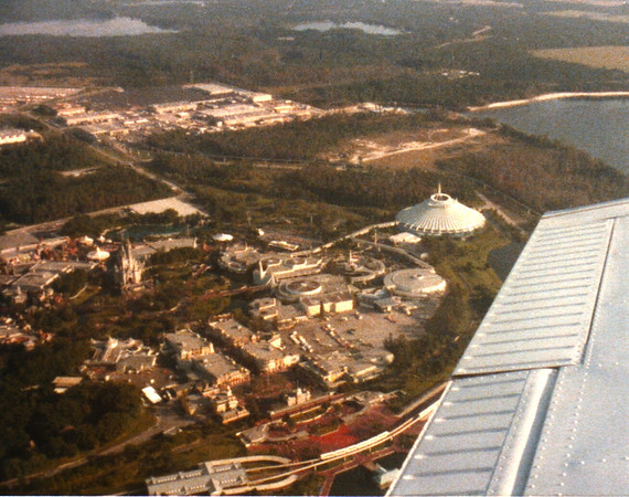 Russell Bellmor Flying Cherokee Six Over Disney World Fall 1979
