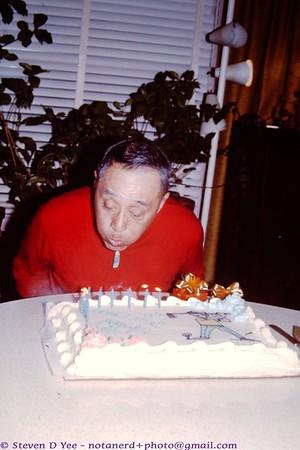 197x - Uncle Shake's birthday