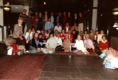 The Tour Group On Our Last Night On Tour Amsterdam Holland American Express European Tour 1984