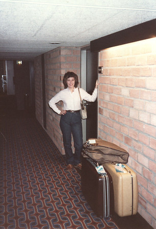 Ann Bellmor Last Morning On Tour Amsterdam Holland American Express European Tour 1984