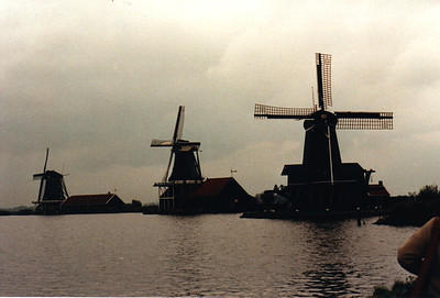 Windmills In Amsterdam Holland American Express European Tour 1984