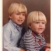 Michael and Mark--November 1982