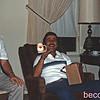 PaPaw (Walter Cox) & Uncle Gary with the Boobie mug.