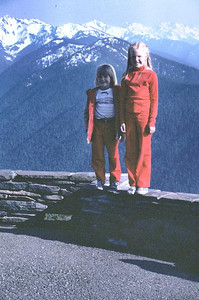 I think this was taken at Hurricane Ridge in Washington.