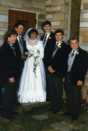 1985 Sandra and Jamie wedding