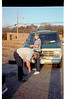 10/30/1987 - Last photo *ever* of license plate in front of van. (Tire change.) Last seen at Opryland!