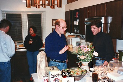Party In Private Home Apple Task Force Meeting Aspen, Colorado December 1994