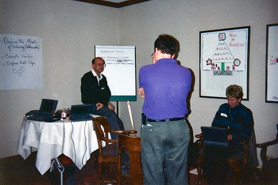 Russell At Apple Task Force Meeting Aspen, Colorado December 1994