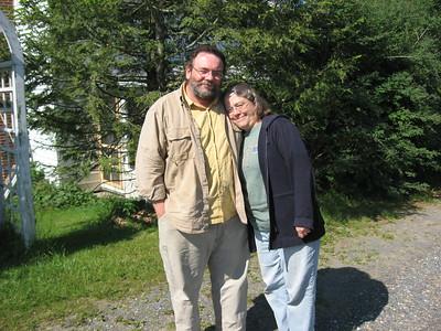 Edgar and Chrisy Williams in VA